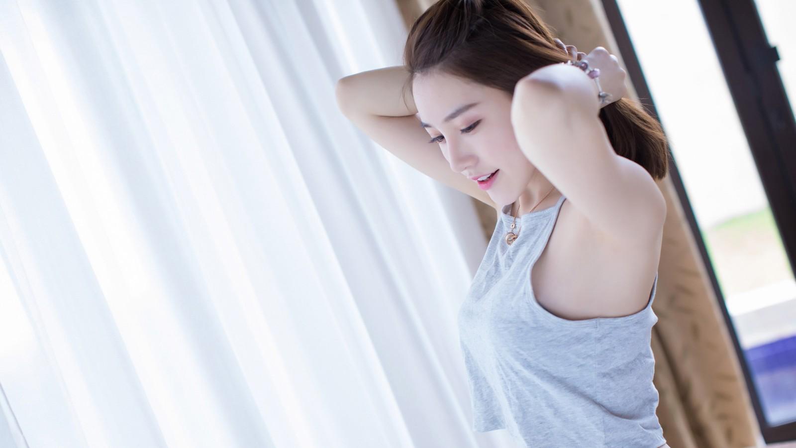 刘奕宁Lynn 温馨清新美女壁纸