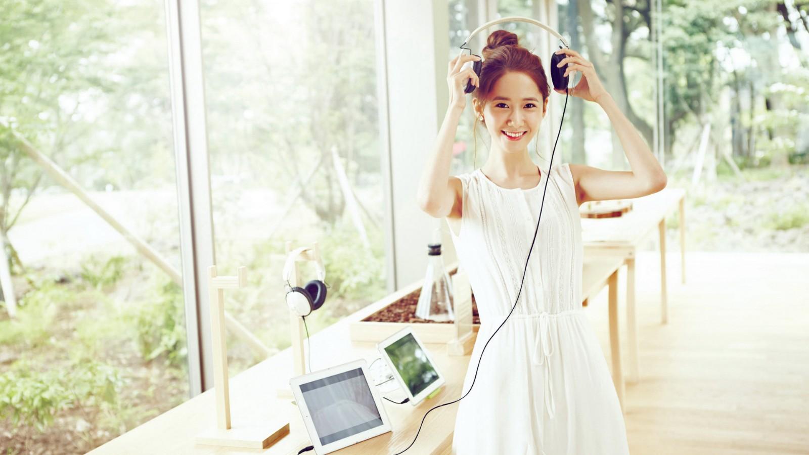 少女时代,明星,林允儿,美女,开心,微笑向暖,美女壁纸