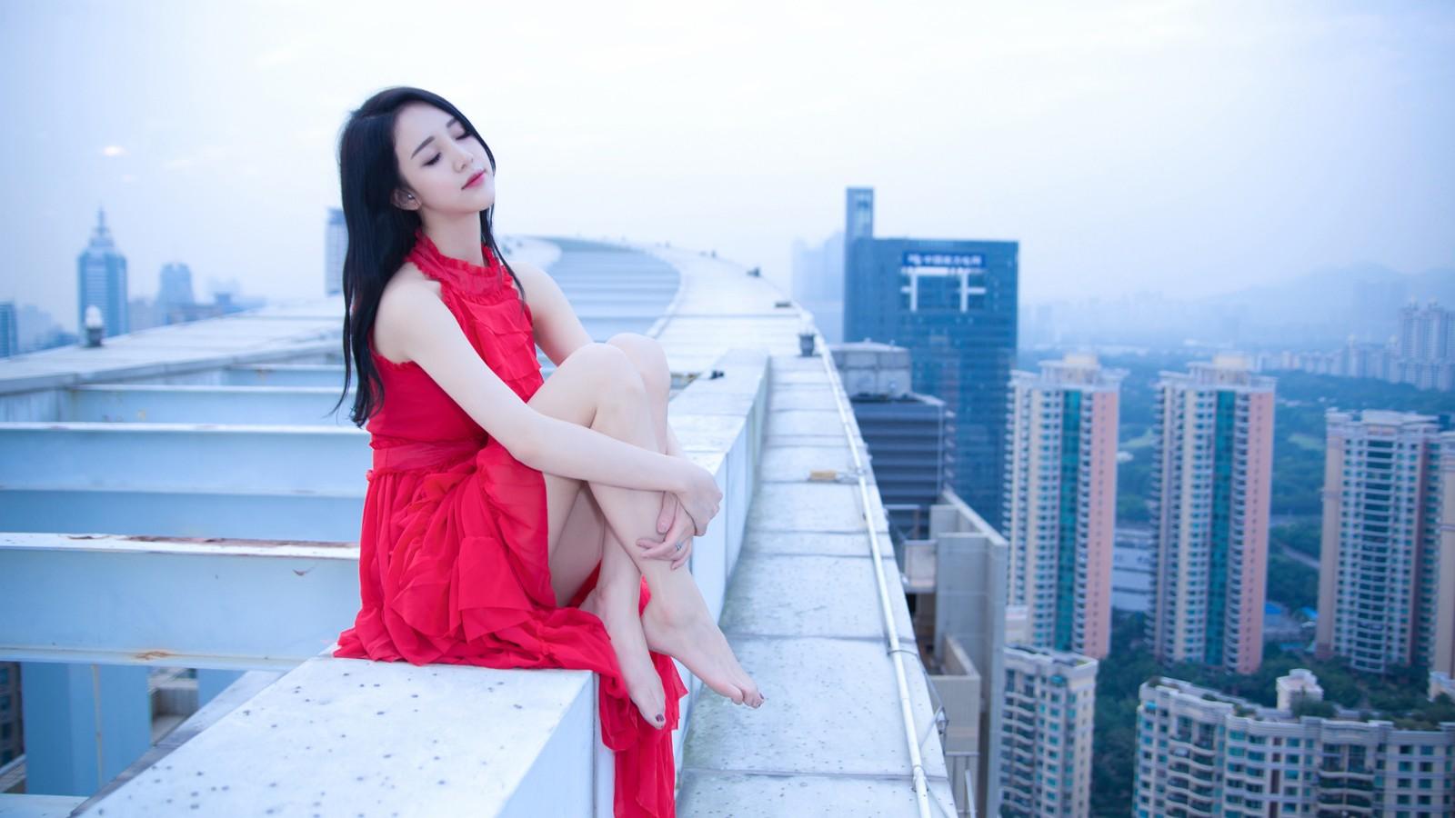 Crystal Lee 李倩倩crysta1lee桌面美女壁纸