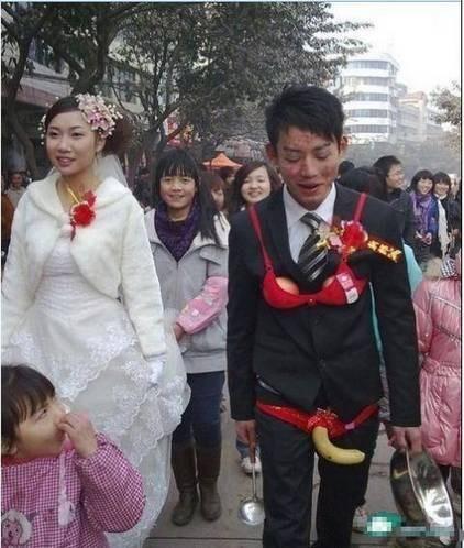 世纪最蛋疼婚礼邪恶恶搞图片精选